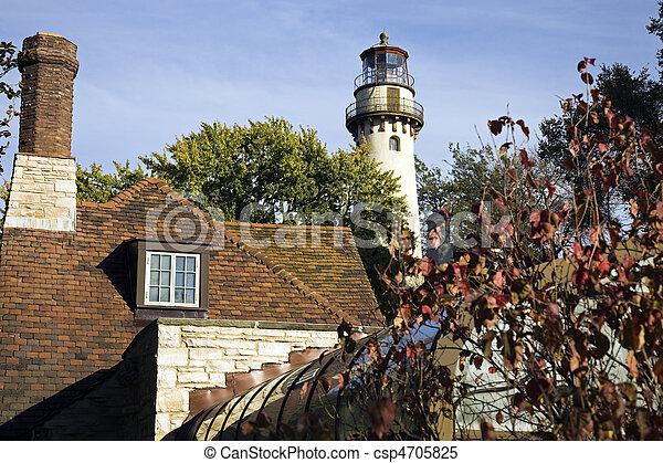 Evanston Lighthouse - csp4705825
