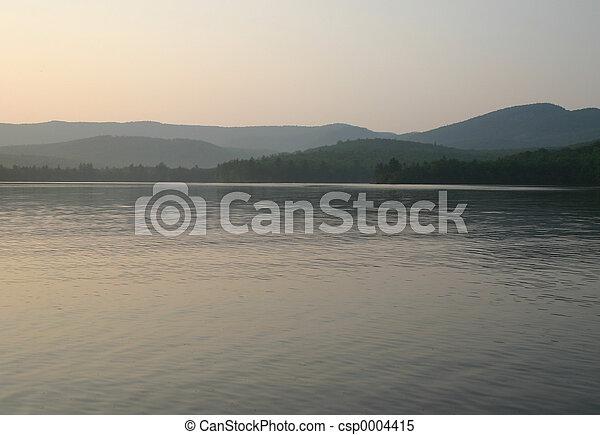 Evening Lake - csp0004415