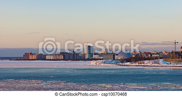 evening over the Gulf of Finland - csp10070468
