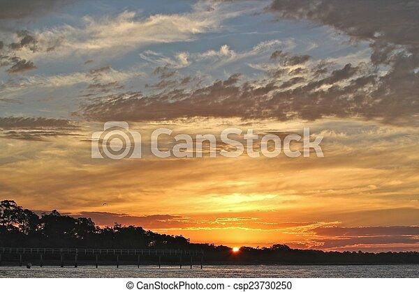 Evening Sky - csp23730250