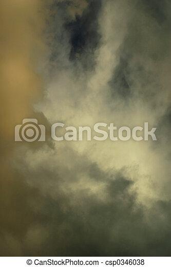 Evening Storm Clouds - csp0346038