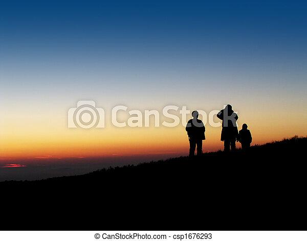 Evening trip - csp1676293