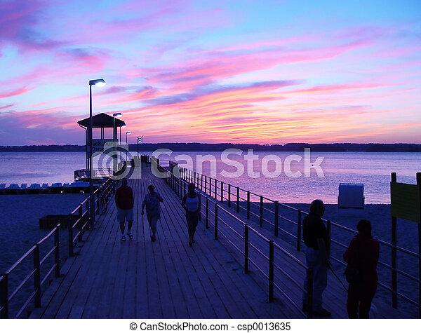 evening walk - csp0013635