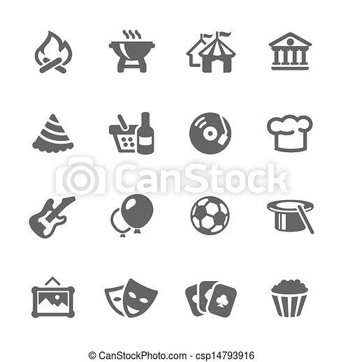 Event icons - csp14793916