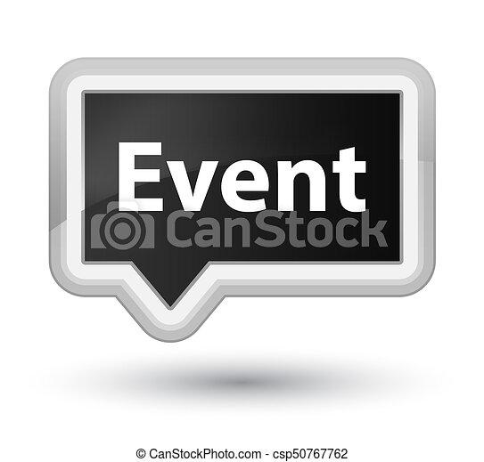 Event prime black banner button - csp50767762