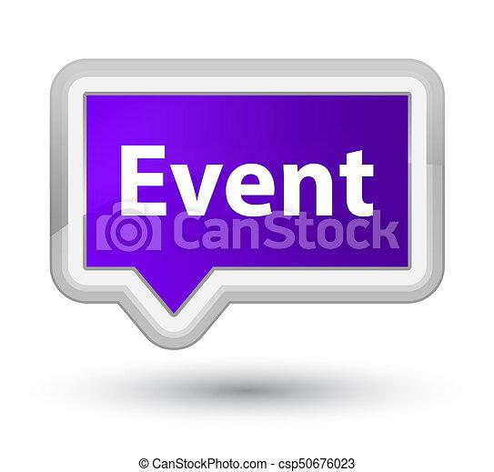 Event prime purple banner button - csp50676023