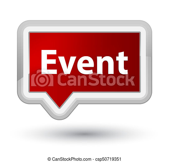 Event prime red banner button - csp50719351