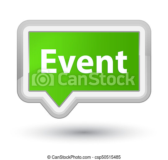 Event prime soft green banner button - csp50515485