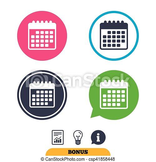 Simbolo Calendario.Evento Calendario Promemoria Icon Simbolo