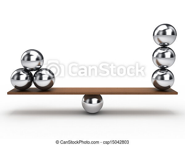 evenwicht, bal - csp15042803