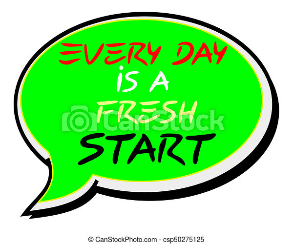 every day is a fresh start creative inspiring motivation clip art rh canstockphoto co uk motivational clipart motivational clip art free