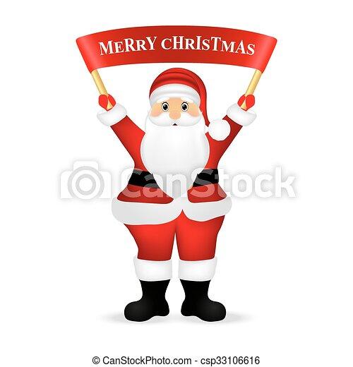 Everyone, weihnachtsmann, wünsche, frohe weihnacht.