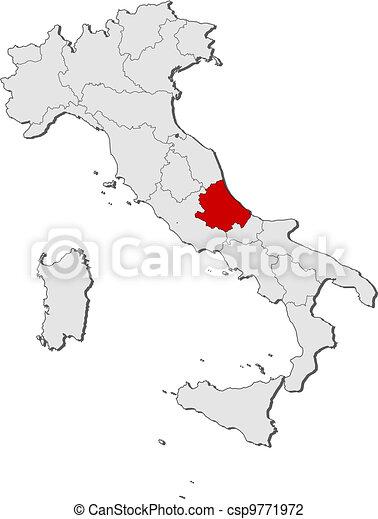 Cartina Politica Italia Con Capoluoghi Di Regione.Cartina Italia Politica Con Regioni Guyclean