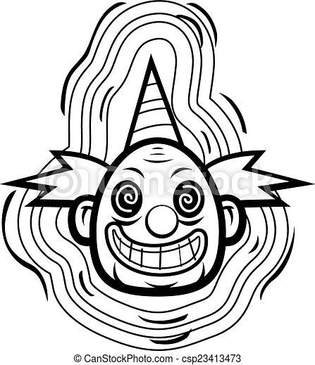Evil Clown - csp23413473