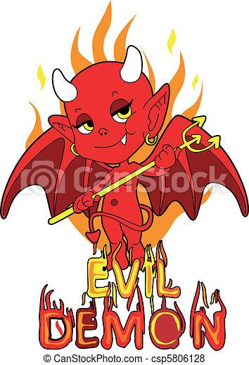 Evil Demon Boy - csp5806128