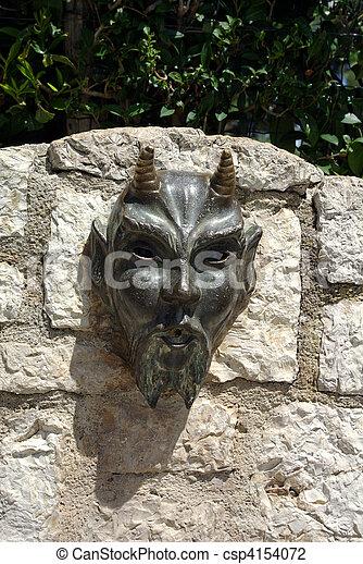 evil fountain head - csp4154072