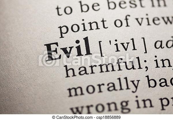 Evil - csp18856889