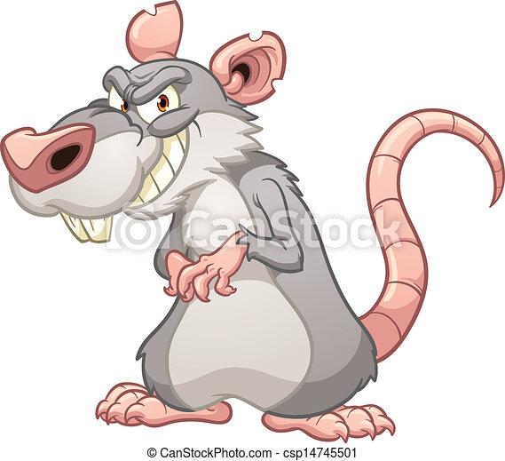 Evil rat - csp14745501