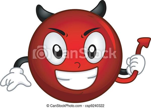 Evil Smiley - csp9240322