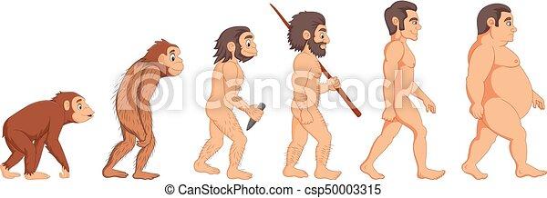 La evolución del hombre - csp50003315