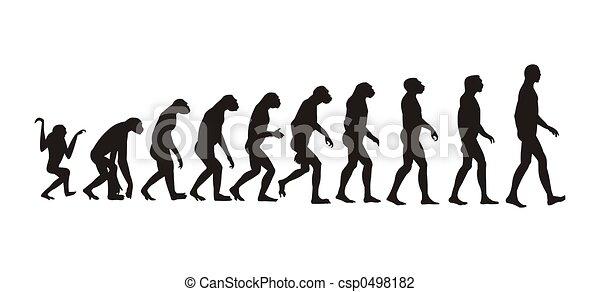 Evolución humana - csp0498182