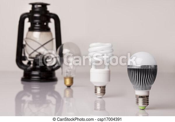Evolución de iluminación - csp17004391