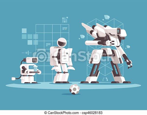 Evolución de la robótica - csp46028183