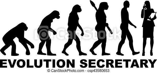 Secretaria de evolución - csp43580653