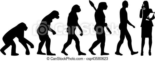Secretaria de evolución - csp43580623