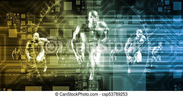 Evolución de tecnología - csp53789253