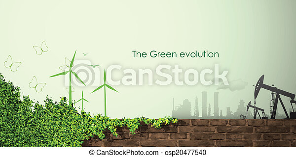 evolution of the concept of greening  - csp20477540