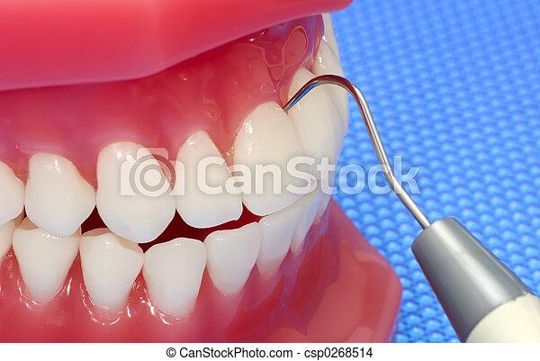 examen dental - csp0268514