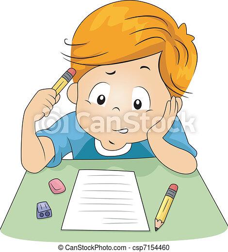 examen, geitje - csp7154460