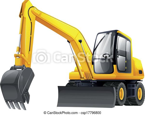 Excavador - csp17796800