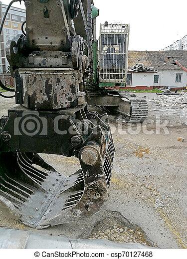 Excavador - csp70127468