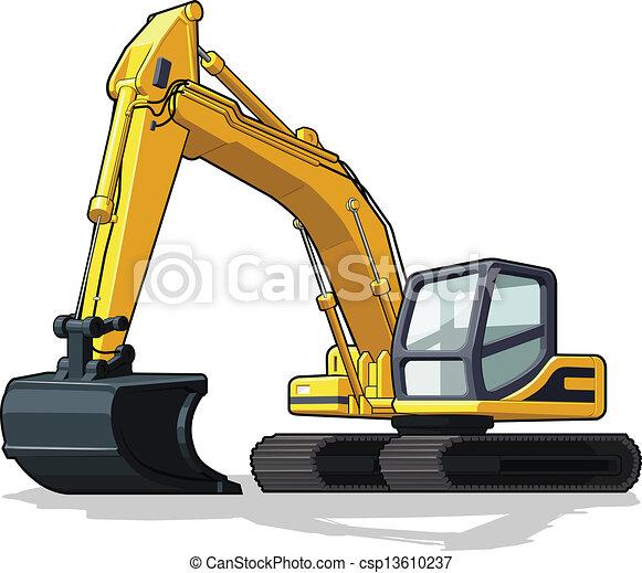 Excavador - csp13610237