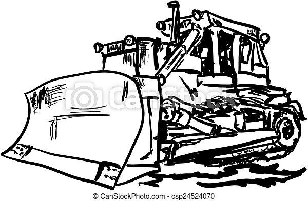 Bulldozer - csp24524070