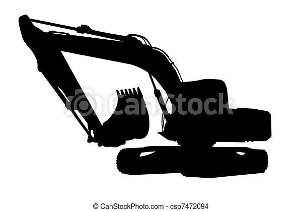 Excavator - csp7472094