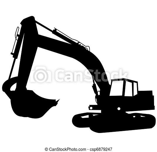 Excavator - csp6879247