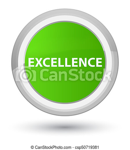 Excellence prime soft green round button - csp50719381