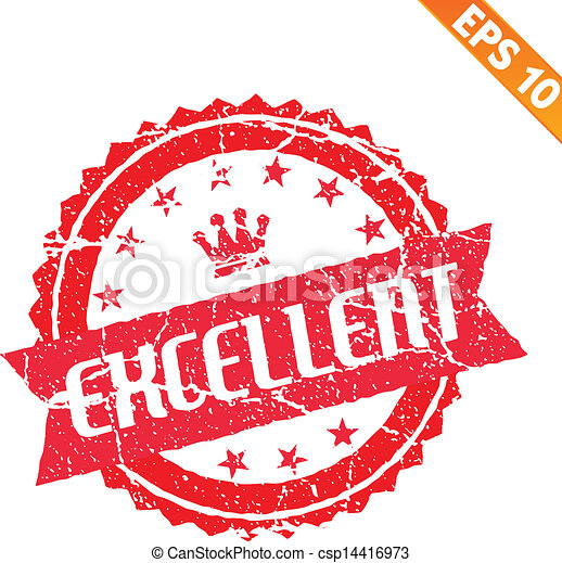 Excellent Work Stamp  Order Now From 1410