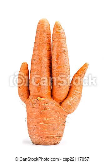 Zanahorias inusuales - csp22117057
