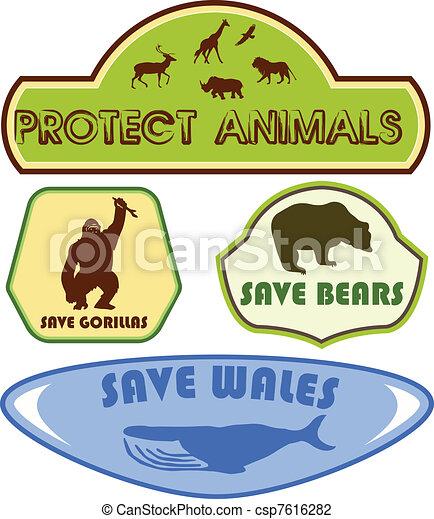 Salvar animales - csp7616282