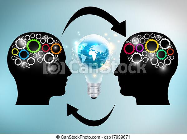 exchange ideas  - csp17939671