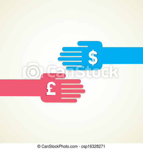 exchange money - csp16328271