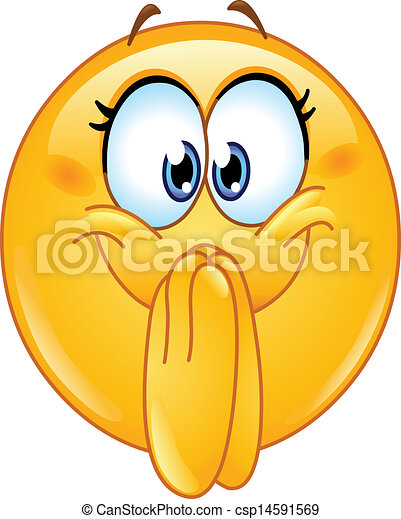 excited emoticon clip art vector search drawings and graphics rh canstockphoto com emoticons clipart free emotions clip art for kids