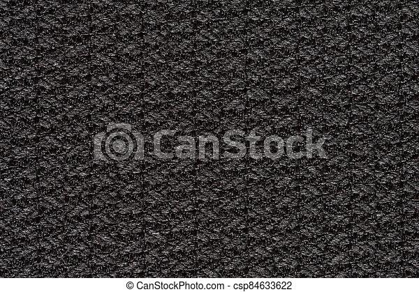 Exciting contrast fabric texture in dark tone. - csp84633622