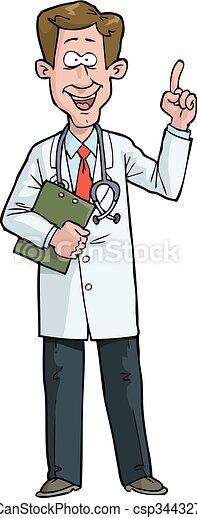 exclaims, doktor - csp34432782