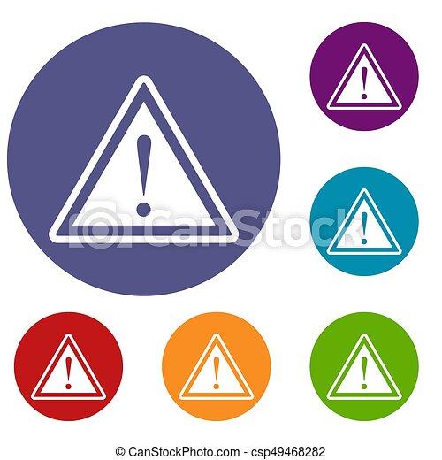 Dessin Panneau Attention dessin panneau danger - maison alarme