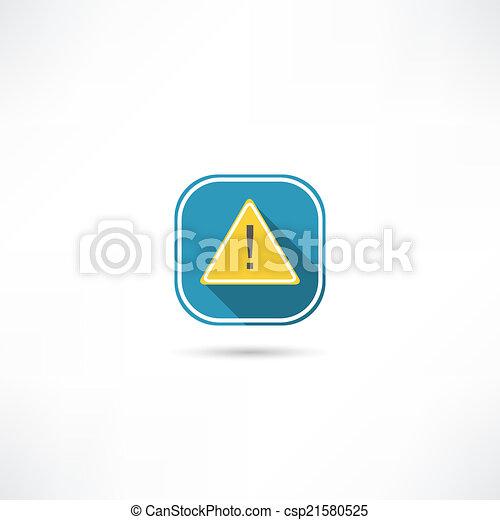 exclamation mark icon - csp21580525